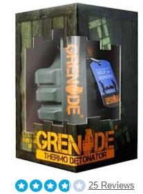 Grenade Fatburner 100 caps Image