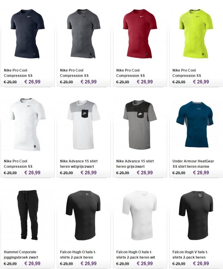 Fitness kleding heren Image