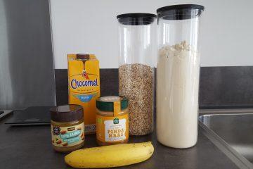 Proteïne shake aankomen