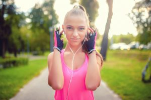 Sportmuziek muziek tijdens sport
