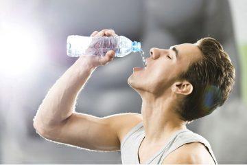 Hoeveel water drinken berekenen