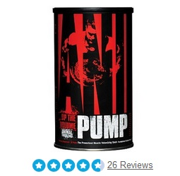 Animal pump - Pre workout zonder cafeine