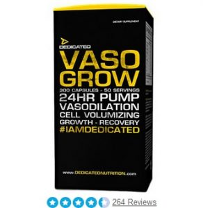 Vasro Grow - Pre workout zonder cafeine