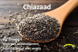 Chiazaad: gezond, krachtig én superfood