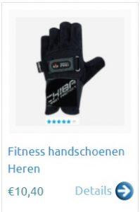 Fitness handschoenen kopen heren