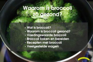Is broccoli gezond