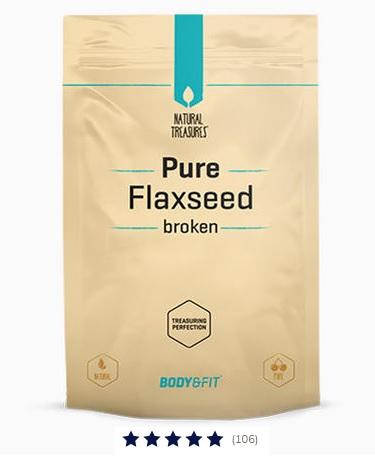 Pure Lijnzaad gebroken - 500 gram Image