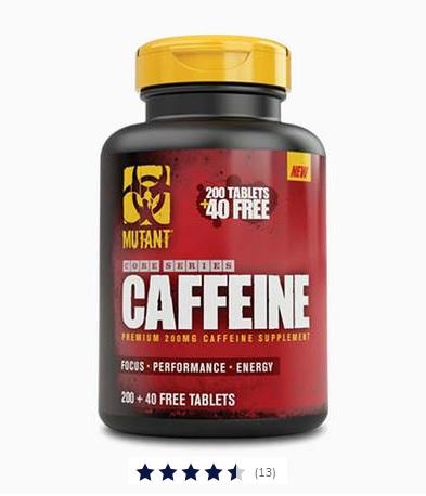 Caffeine capsules 240 stuks Image