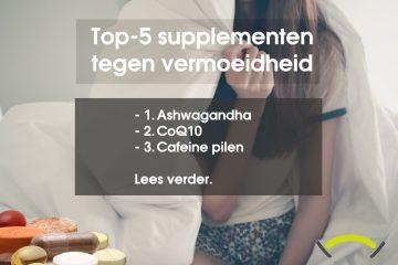 Welke supplementen vitamines tegen vermoeidheid
