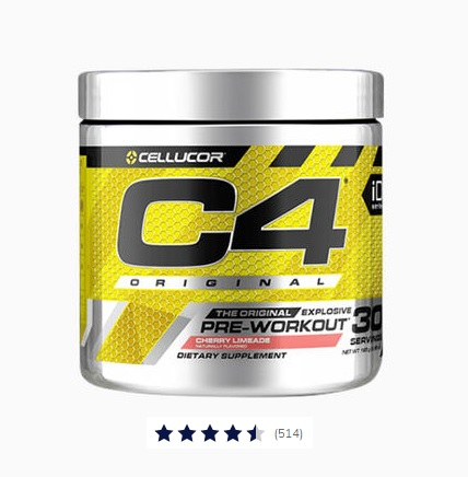 C4 Original Pre-workout Image