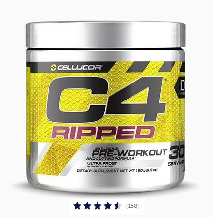 C4 Ripped Pre-Workout Image