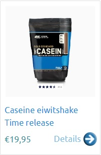 Caseine eiwitsake time release