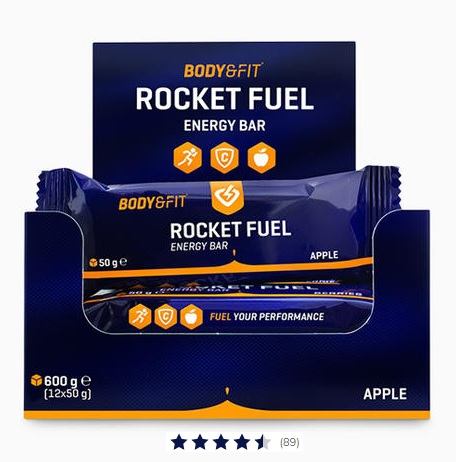 Rocket fuel bar met dadels Image