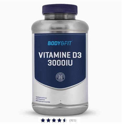 Vitamine D3 - 3000 IU Image