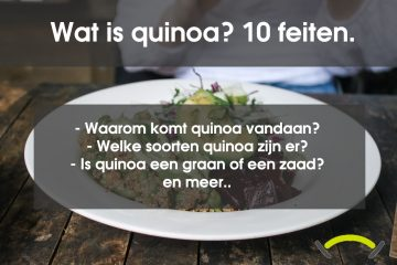 Wat is quinoa